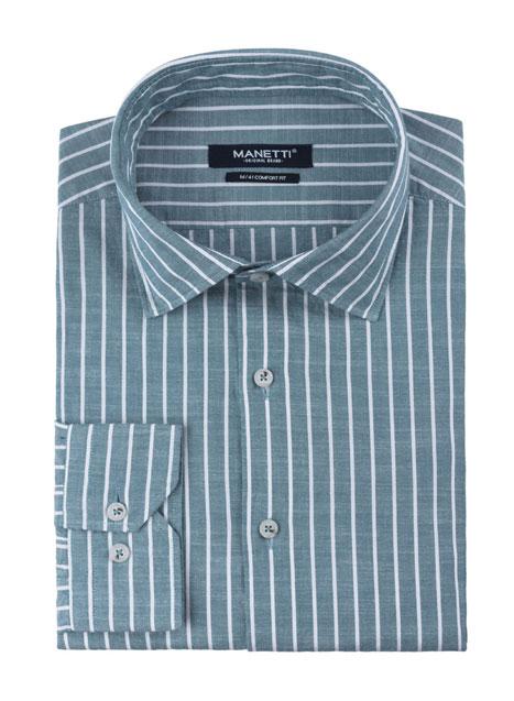 Ανδρικό Πουκάμισο Manetti casual mint