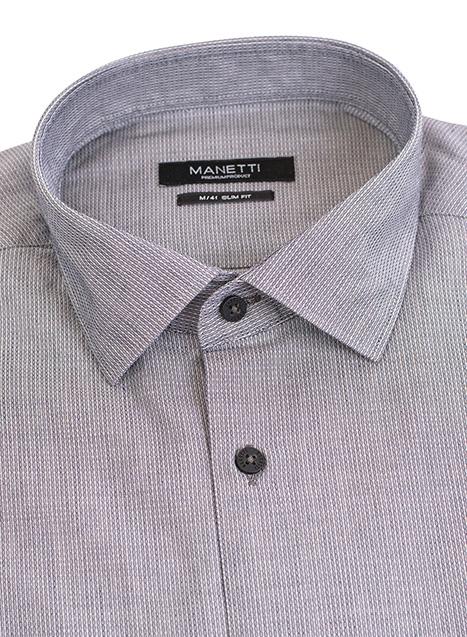 Ανδρικό Πουκάμισο Manetti formal grey