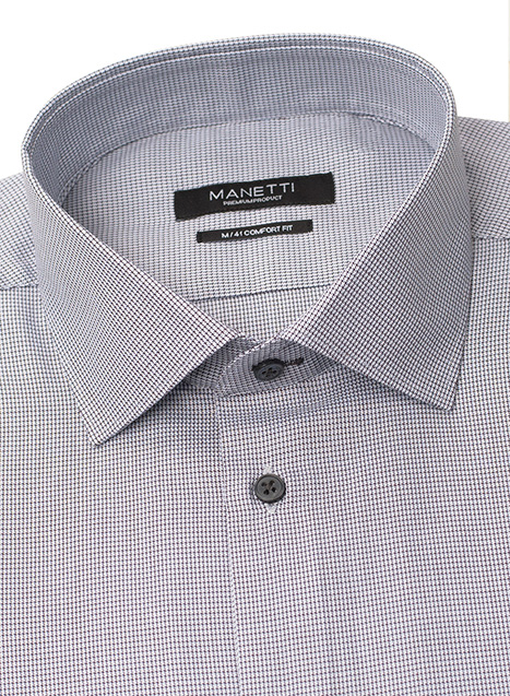 Ανδρικό Πουκάμισο Manetti formal olive grey