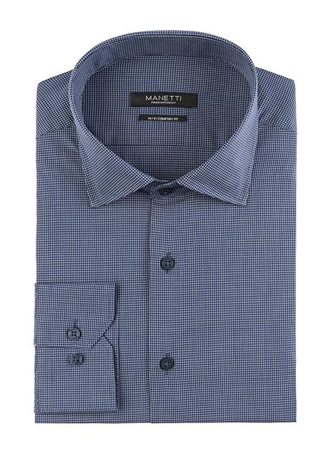 Ανδρικό Πουκάμισο Manetti formal blue
