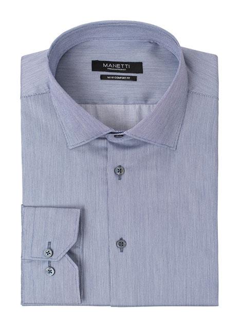 Ανδρικό Πουκάμισο Manetti formal shade blue