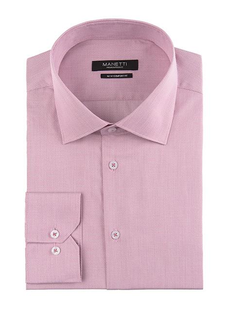 Ανδρικό Πουκάμισο Manetti formal dirty pink