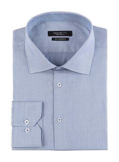 Ανδρικό Πουκάμισο Manetti formal light blue
