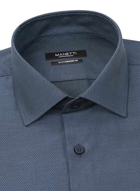 Ανδρικό Πουκάμισο Manetti formal mod blue