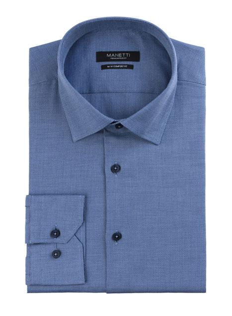 Ανδρικό Πουκάμισο Manetti formal dark blue