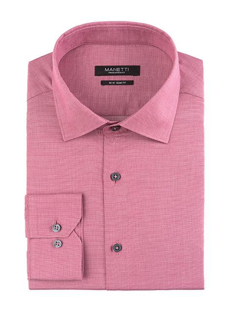 Ανδρικό Πουκάμισο Manetti formal blush pink