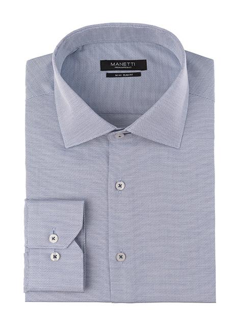 Ανδρικό Πουκάμισο Manetti formal blue-white