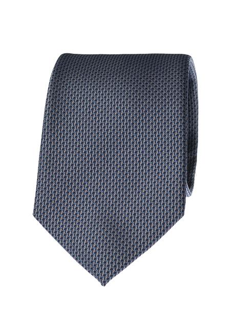Ανδρική Γραβάτα Manetti formal silver blue