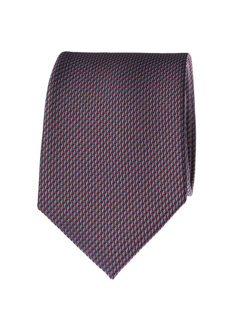 Ανδρική Γραβάτα Manetti formal silver red