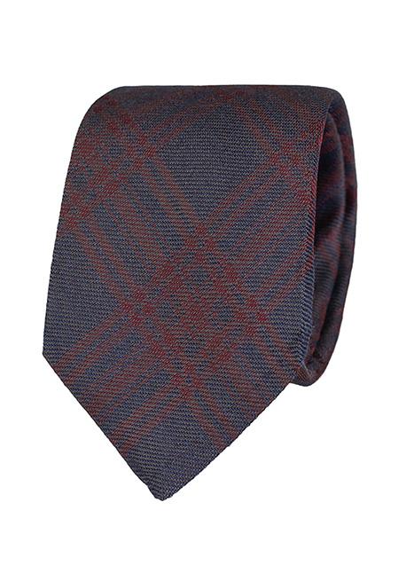 Ανδρική Γραβάτα Manetti formal blue-rust