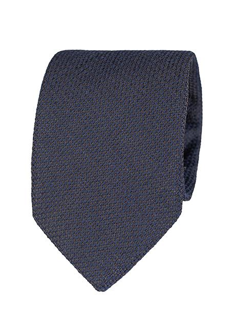 Ανδρική Γραβάτα Manetti formal blue-grey