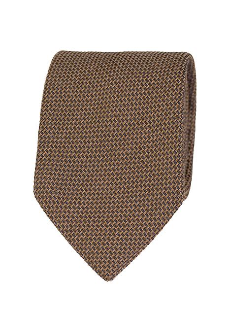Ανδρική Γραβάτα Manetti formal taba-black