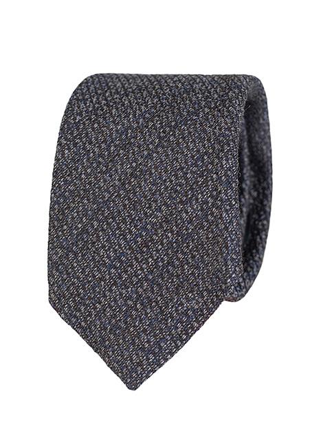 Ανδρική Γραβάτα Manetti formal dark blue-grey
