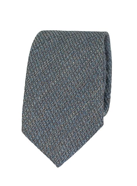 Ανδρική Γραβάτα Manetti formal indigo-green