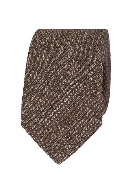Ανδρική Γραβάτα Manetti formal brown