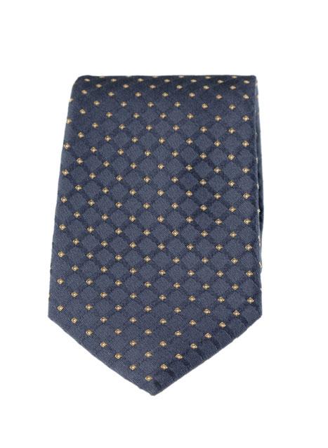 Ανδρική Γραβάτα Manetti accessories green-blue