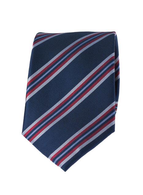 Ανδρική Γραβάτα Manetti formal blue red