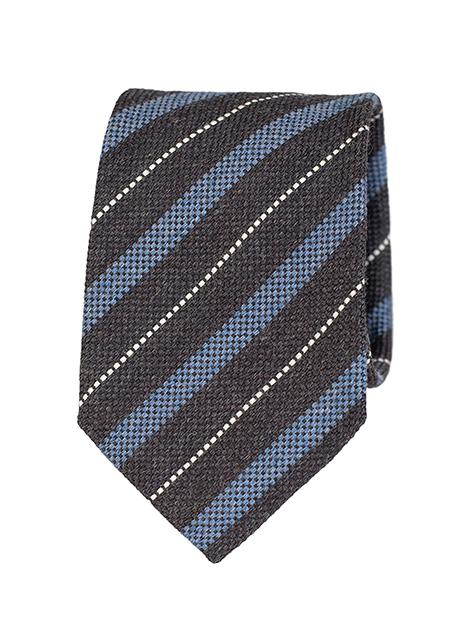 Ανδρική Γραβάτα Manetti formal black-blue