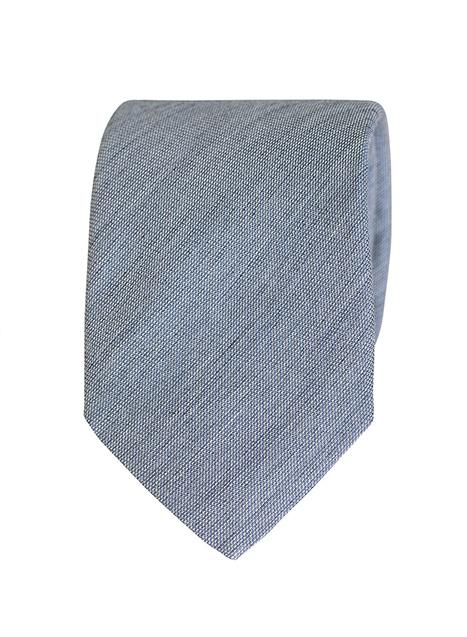 Ανδρική Γραβάτα Manetti formal grey blue