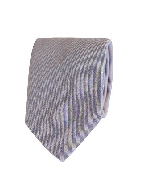 Ανδρική Γραβάτα Manetti formal beige-blue