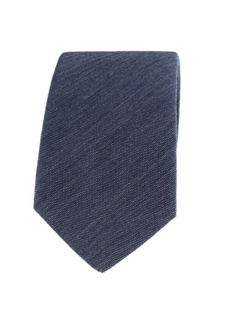Ανδρική Γραβάτα Manetti accessories indigo
