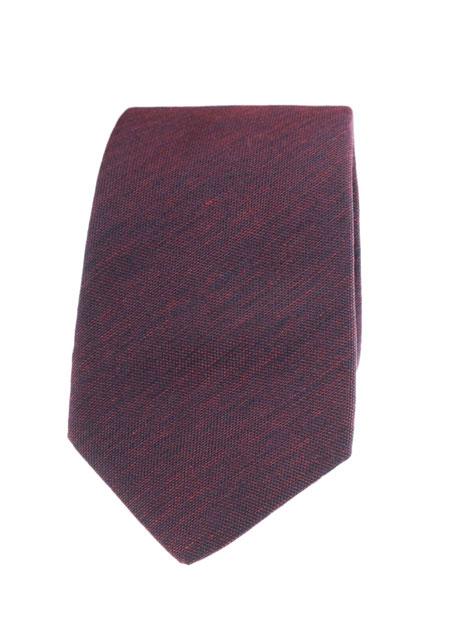 Ανδρική Γραβάτα Manetti accessories bordeaux