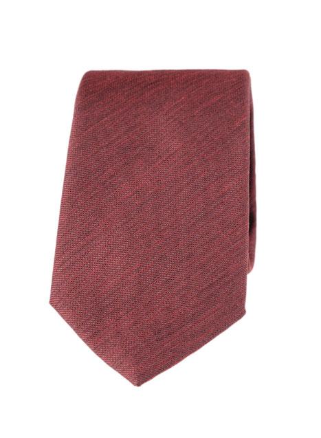 Ανδρική Γραβάτα Manetti accessories rust