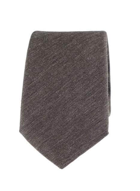 Ανδρική Γραβάτα Manetti accessories khaki