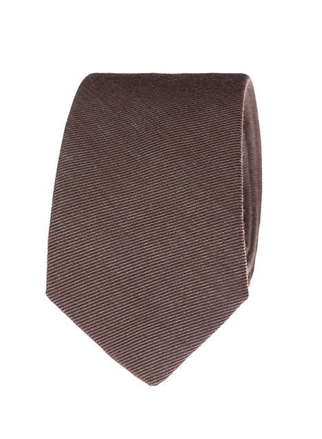 Ανδρική Γραβάτα Manetti formal dirty brown