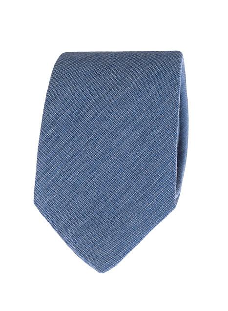 Ανδρική Γραβάτα Manetti formal indigo blue