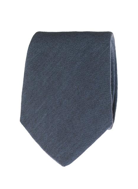 Ανδρική Γραβάτα Manetti formal dark blue