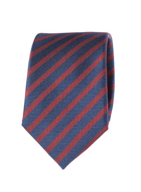 Ανδρική Γραβάτα Manetti accessories blue-rust