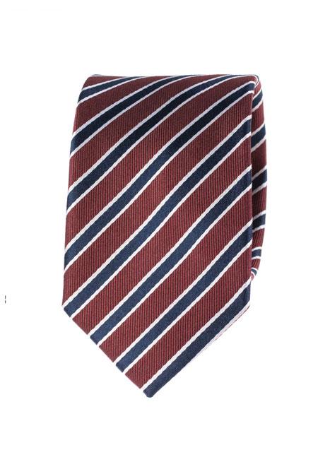Ανδρική Γραβάτα Manetti accessories bordo-blue