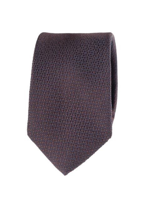 Ανδρική Γραβάτα Manetti accessories blue-brown