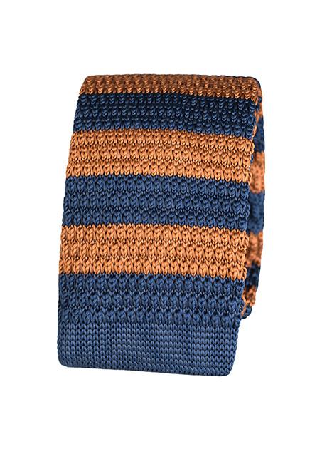 Ανδρική Γραβάτα Manetti formal blue tamba