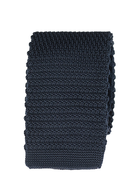 Ανδρική Γραβάτα πλεκτή Manetti accessories blue