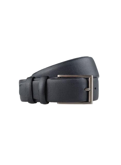 Ανδρική Ζώνη Manetti casual black