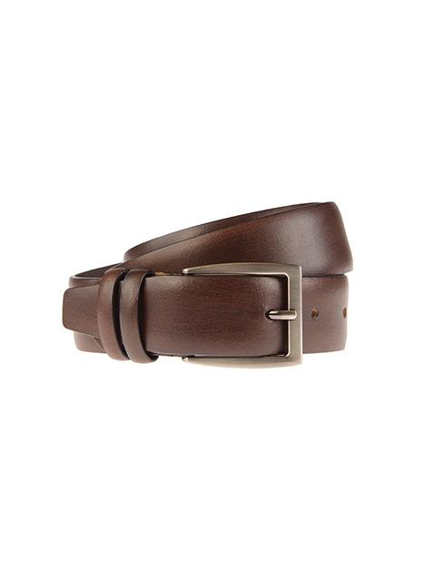 Ανδρική Ζώνη Manetti casual brown