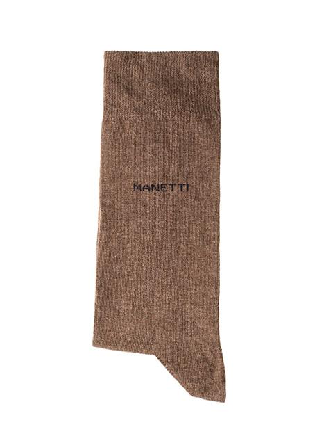 Ανδρική Κάλτσα Manetti casual brown