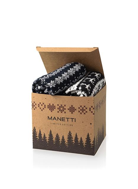 Ανδρική Κάλτσα Manetti (σετ 2 ζεύγη) casual blue-black