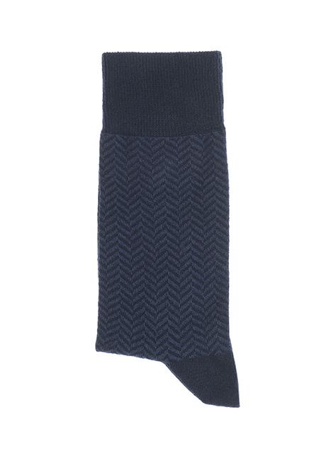 Ανδρική Κάλτσα Manetti accessories blue-indigo