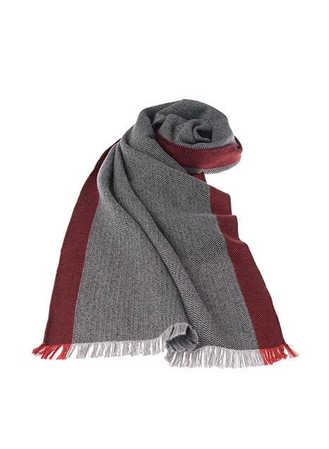 Ανδρικό Κασκόλ Manetti casual grey-red