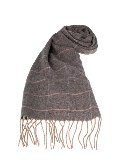 Ανδρικό Κασκόλ Manetti casual warm grey