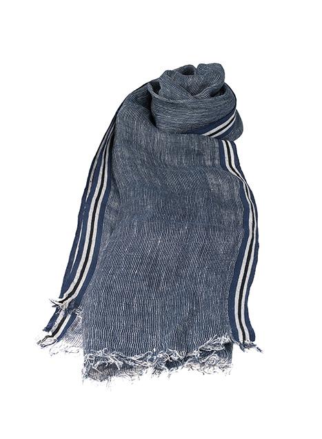 Ανδρικό Κασκόλ Manetti casual indigo blue
