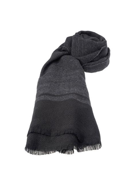 Ανδρικό Κασκόλ Manetti casual grey black
