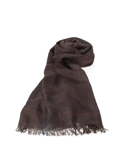 Ανδρικό Κασκόλ Manetti casual brown black