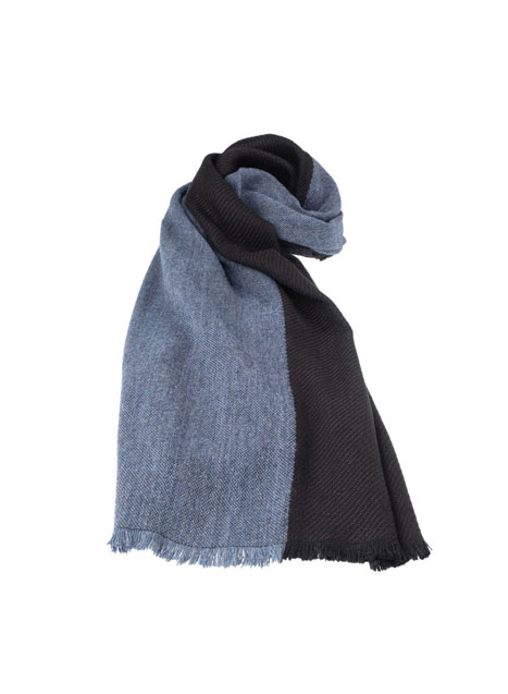 Ανδρικό Κασκόλ Manetti casual light blue black