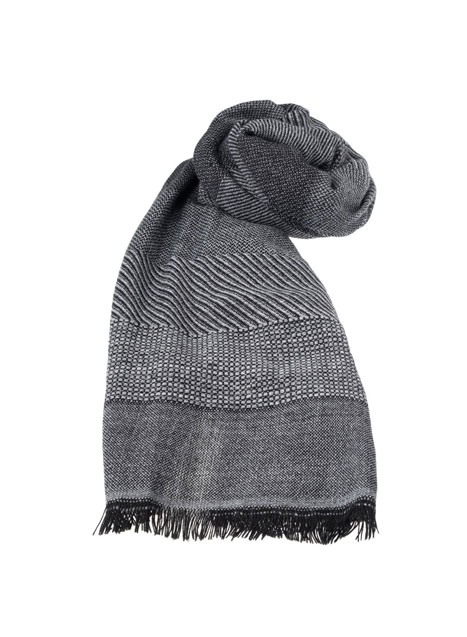 Ανδρικό Κασκόλ Manetti casual black grey