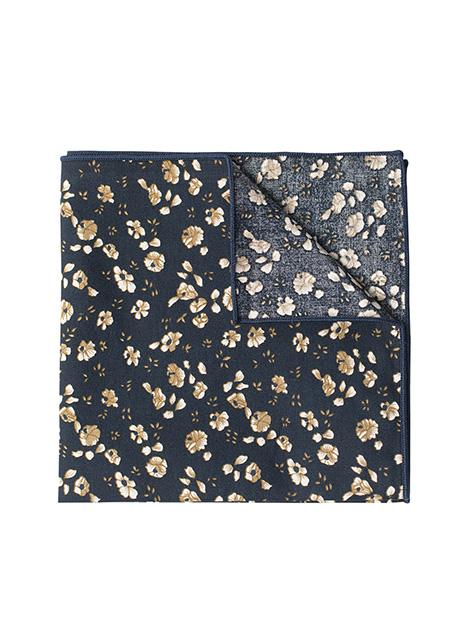 Ανδρικό Μαντήλι Manetti accessories navy floral print