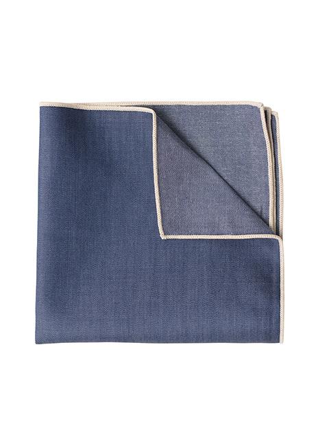 Ανδρικό Μαντήλι Manetti accessories indigo blue